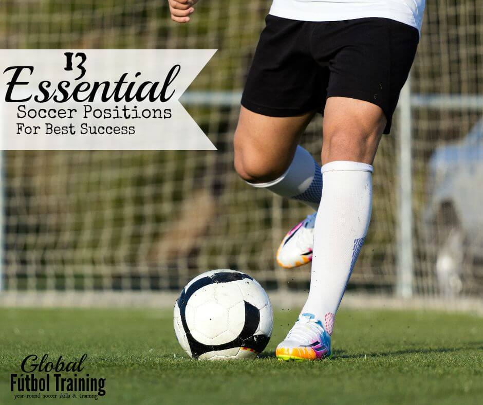 13 essential soccer positions for best success