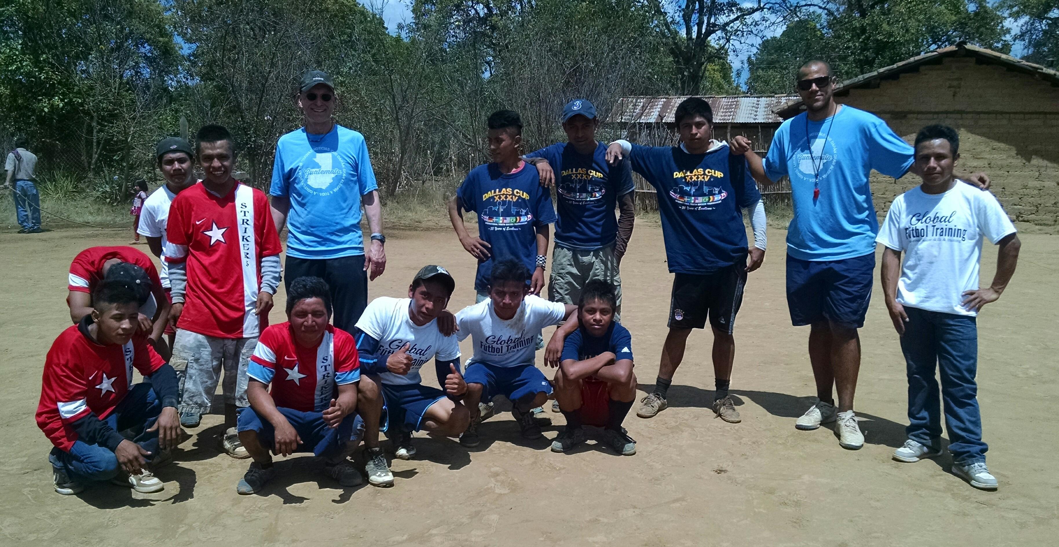 Global Futbol Training Guatemala GFTskills camp Jeremie Piette soccer skills trainer coach