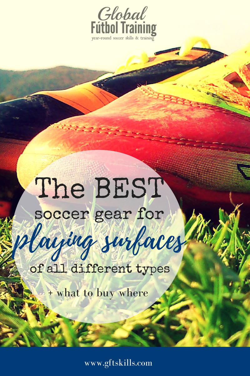 The best soccer gear for playing surfaces