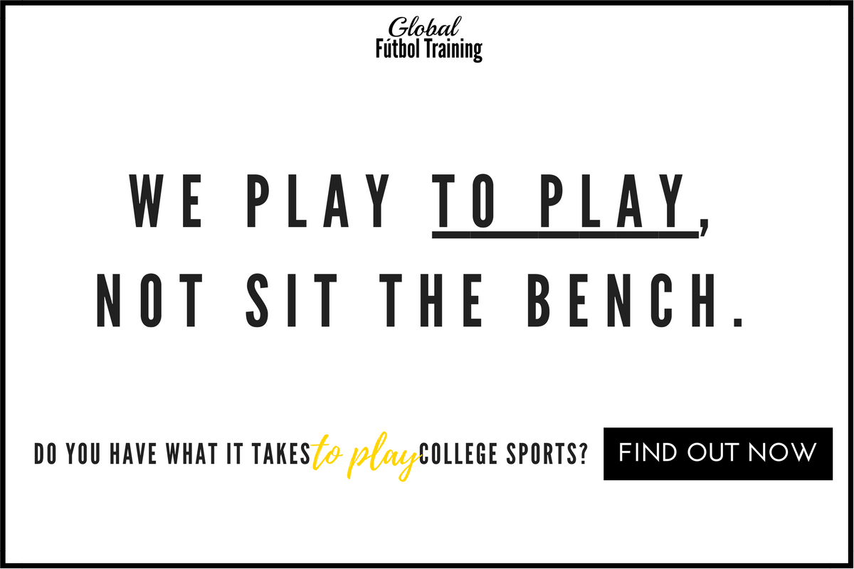 we play soccer to play, not sit the bench