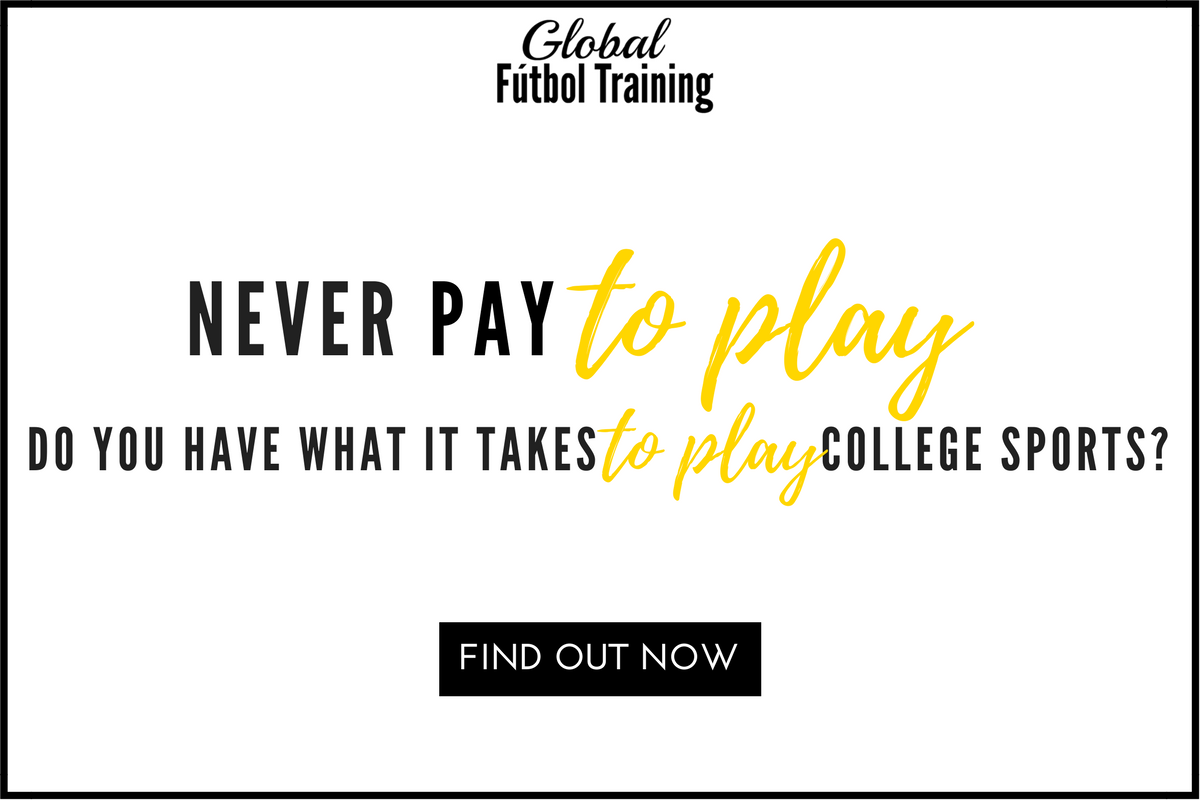 never pay to play. do you have what it takes to play college sports.