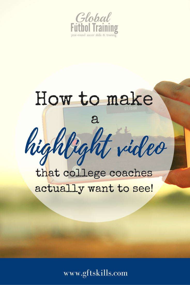 How to make a highlight video