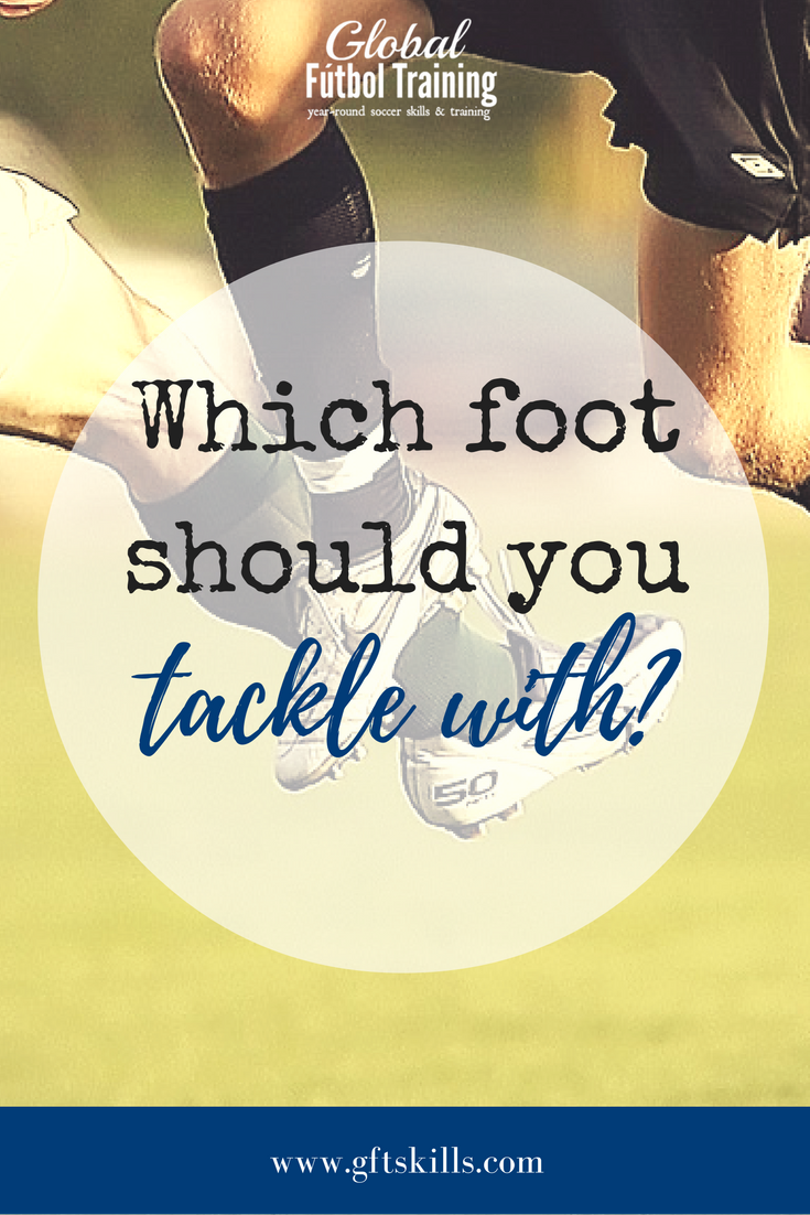 Which foot should you tackle with? Learn to legally tackle like a beast!