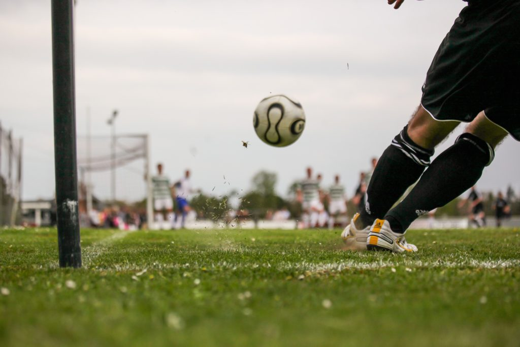 Finishing is the skill that no soccer player ever masters!