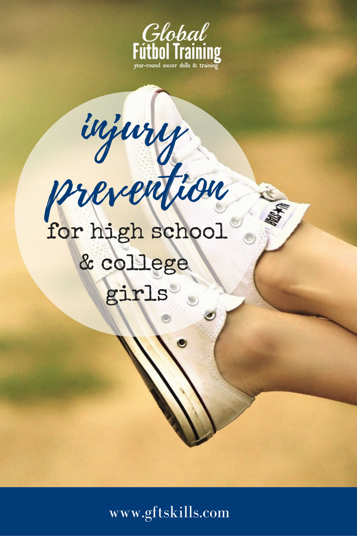 injury prevention for high school and college girls