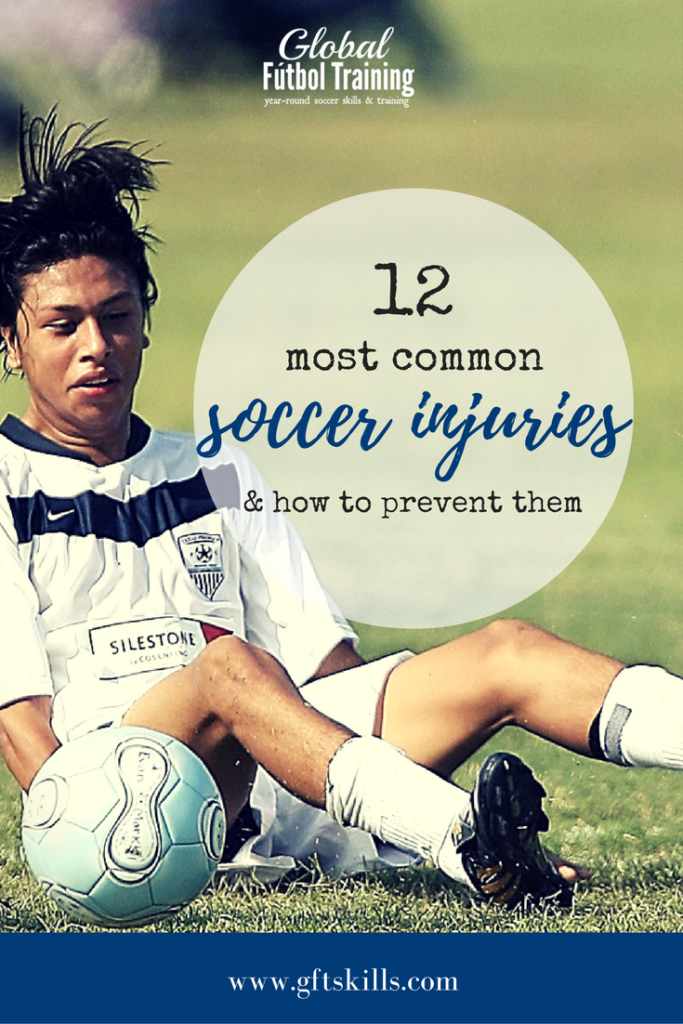 12 most common soccer injuries and how to prevent