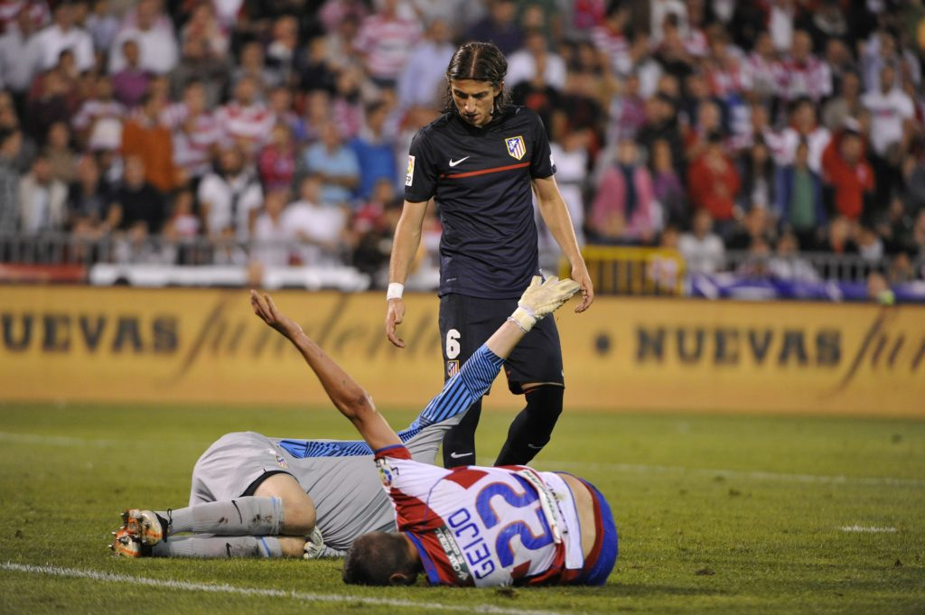 professional soccer players get concussions & injuries. Learn the best way to prevent concussions by properly heading the ball.