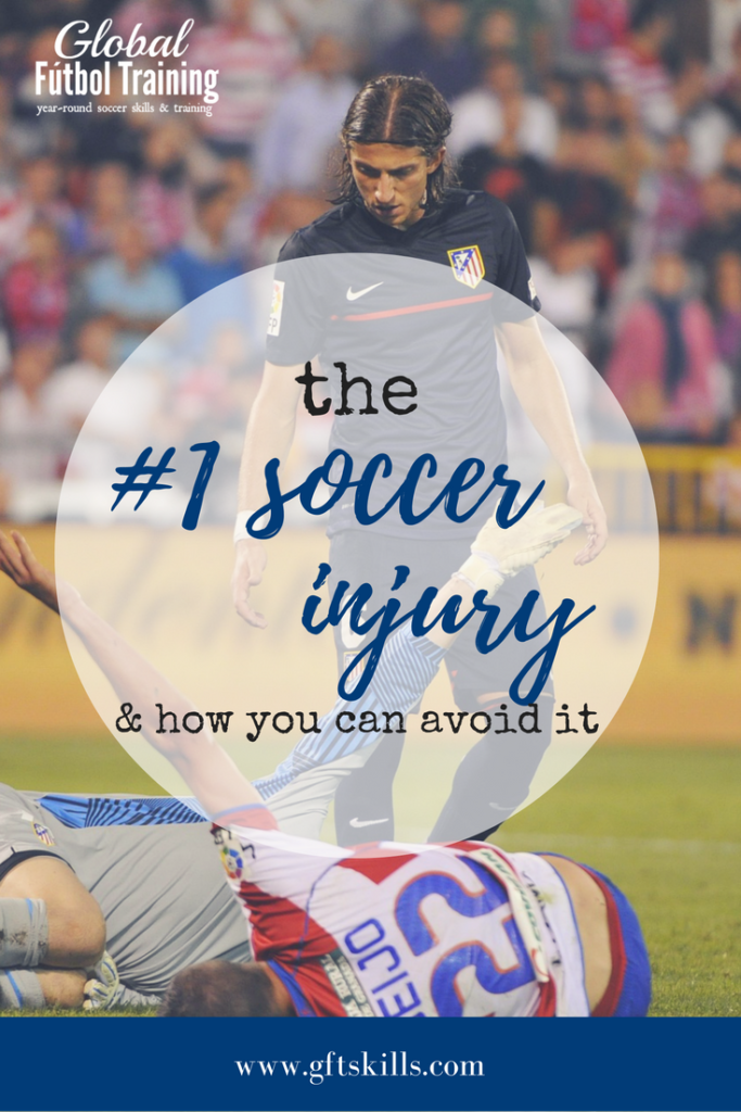 A common soccer injury & 5 ways it can happen to you [+ how
