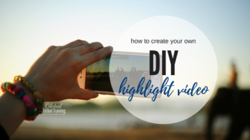 DIY Highlight Video for Athletes