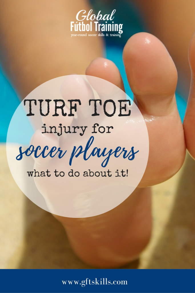 Turf Toe injury for soccer players