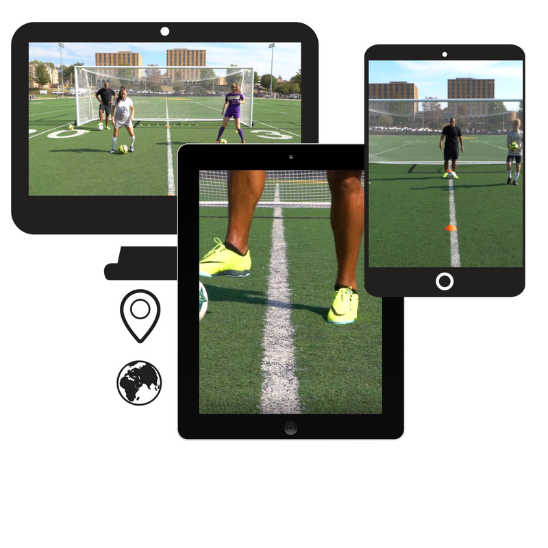 online soccer skills training on-demand anytime, anywhere