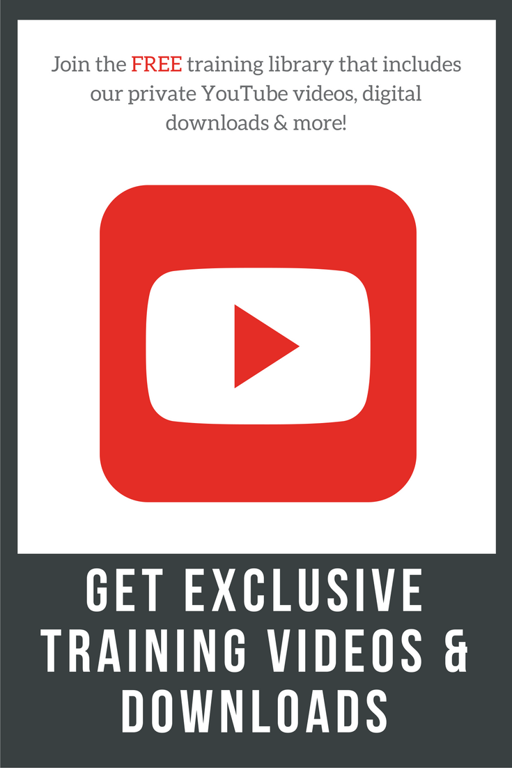 Private YouTube training videos, digital downloads & more are FREE for you to use in the GFT e-library.