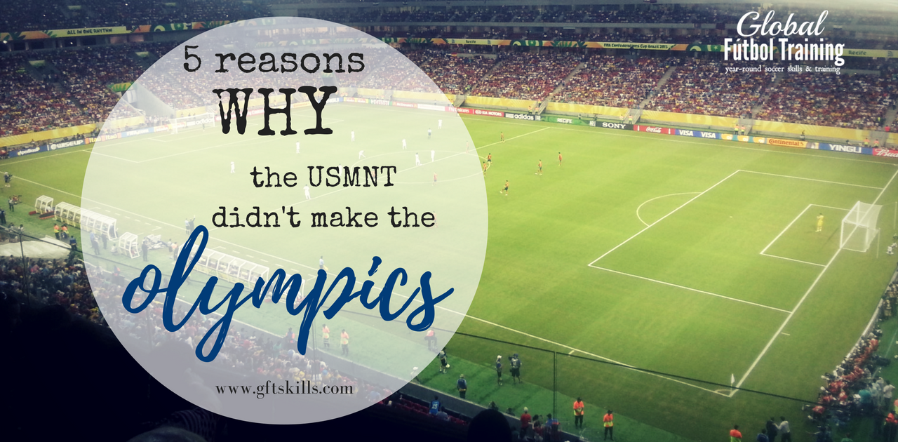 5 reasons why US men's soccer didn't make the Olympics