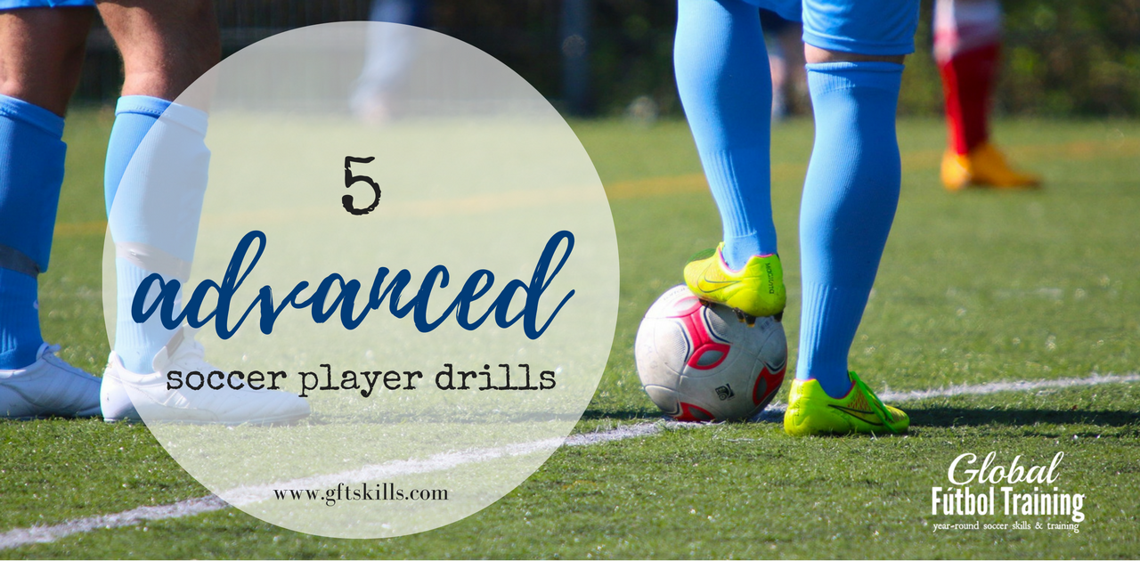 5 advanced soccer drills [master both sides to trap]