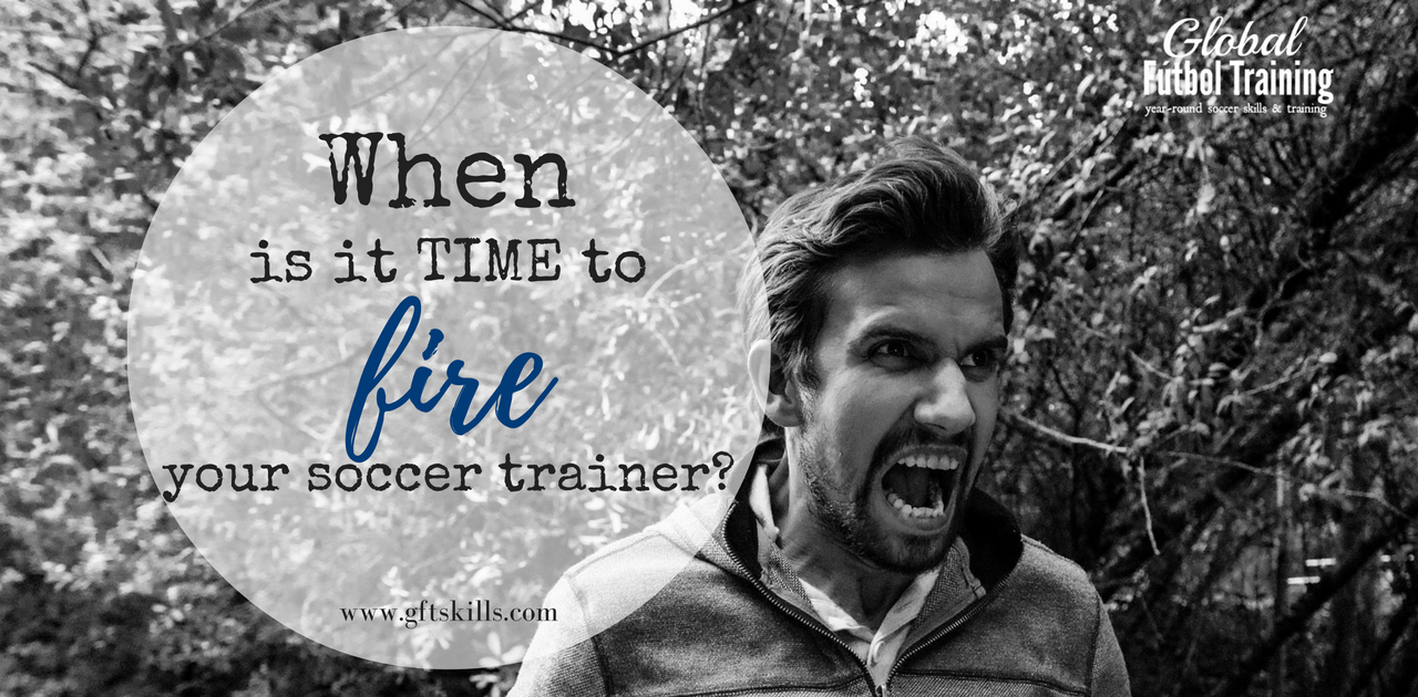 Could it be time to fire your soccer trainer?