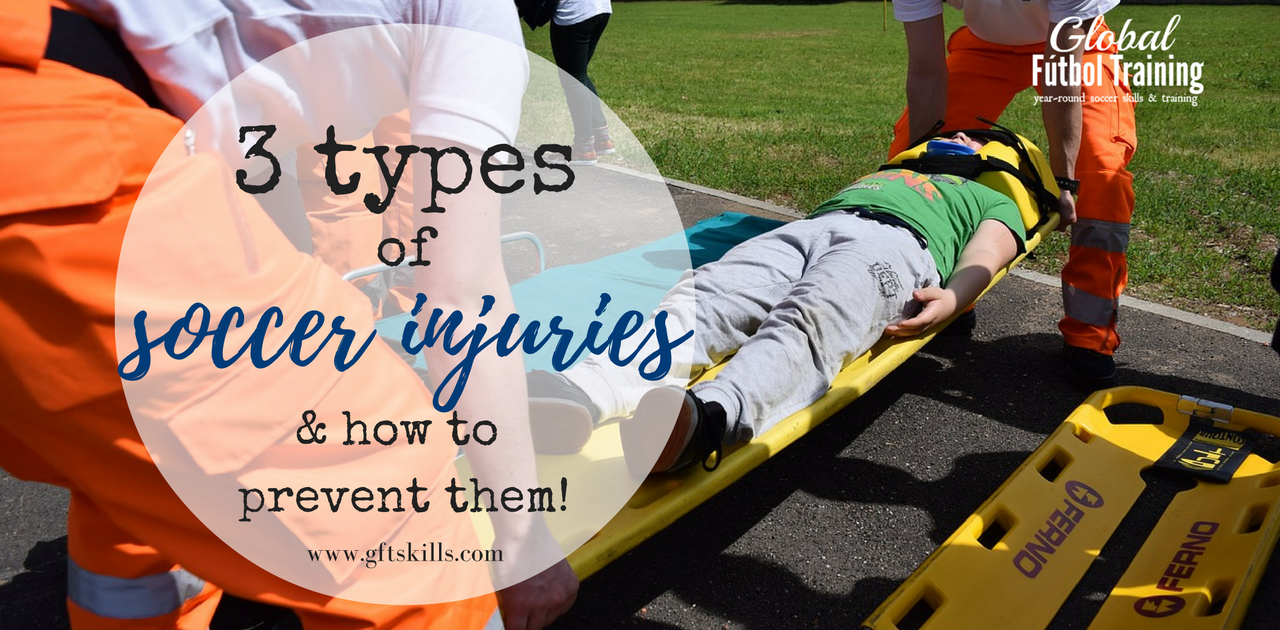 3 types of soccer injuries [& how to prevent them]