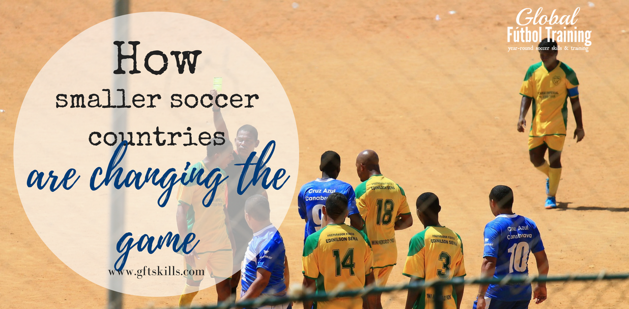 How smaller soccer countries are changing the game