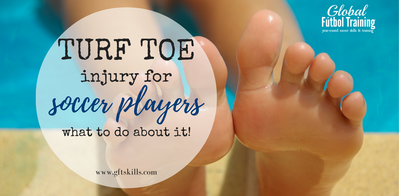 Turf toe injury for soccer players [+ the rehab you should stay away from]