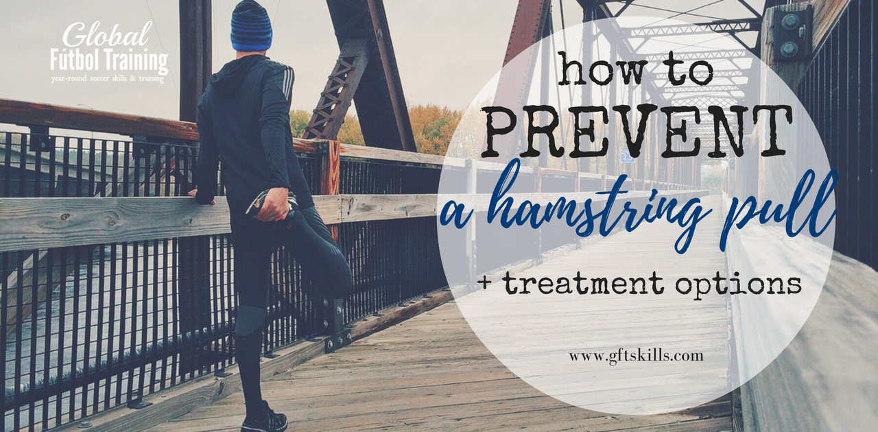 How soccer players prevent & treat a hamstring pull