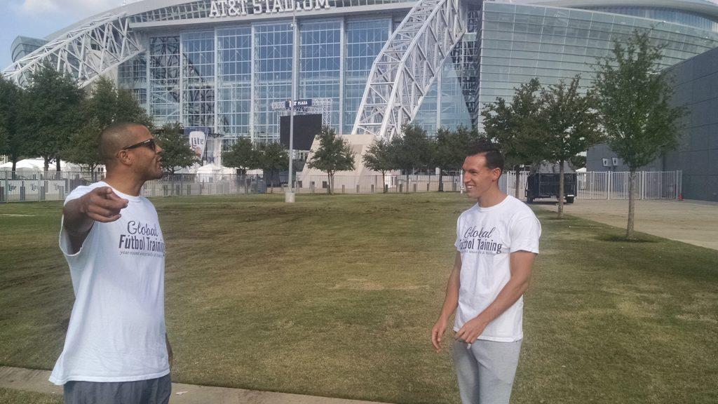 Jeremie & Ross joking around