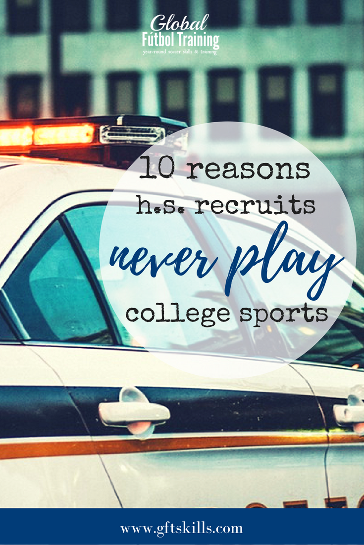 10 reasons why recruited h.s. players never play college ball