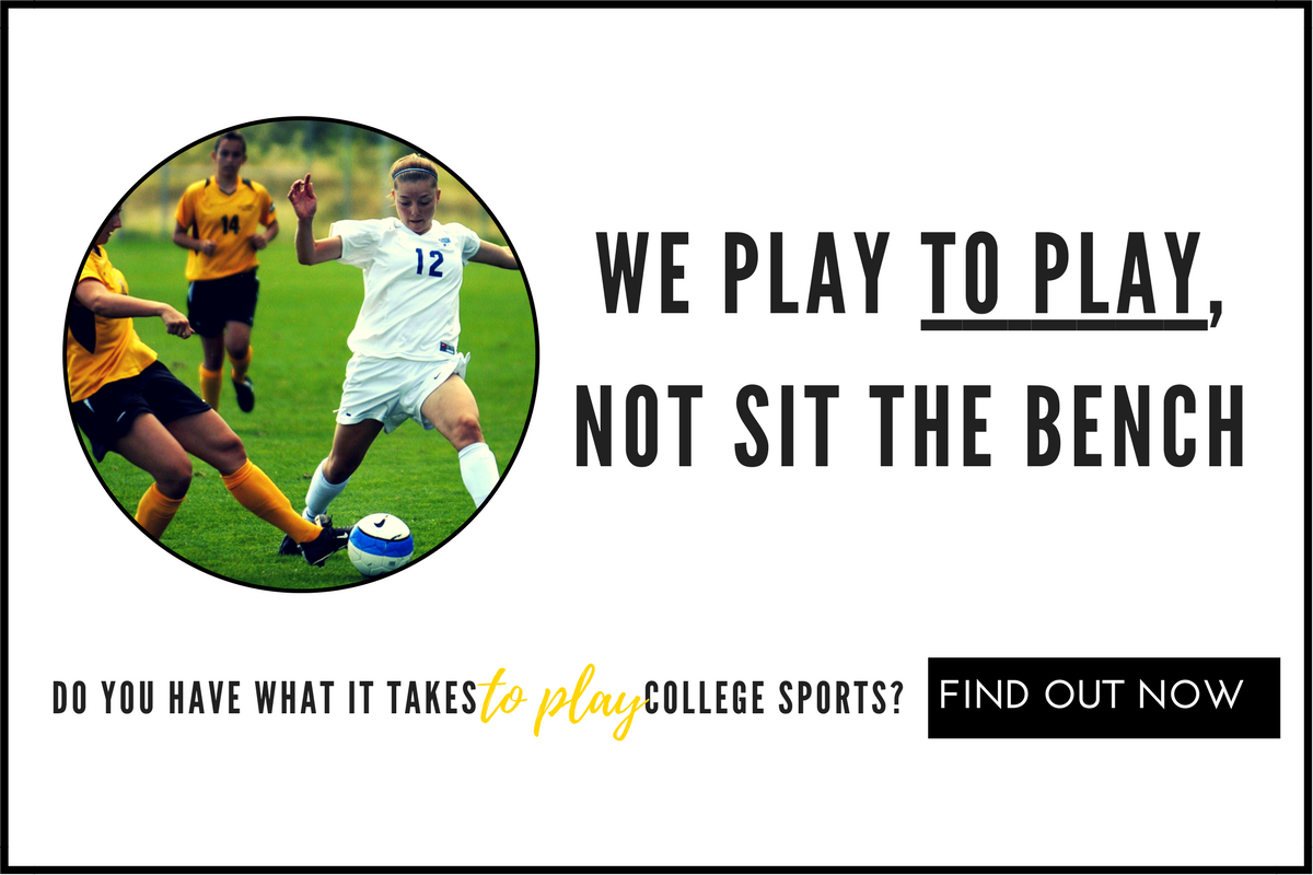 Find out if you have what it takes to play college soccer with our FREE information webinar!