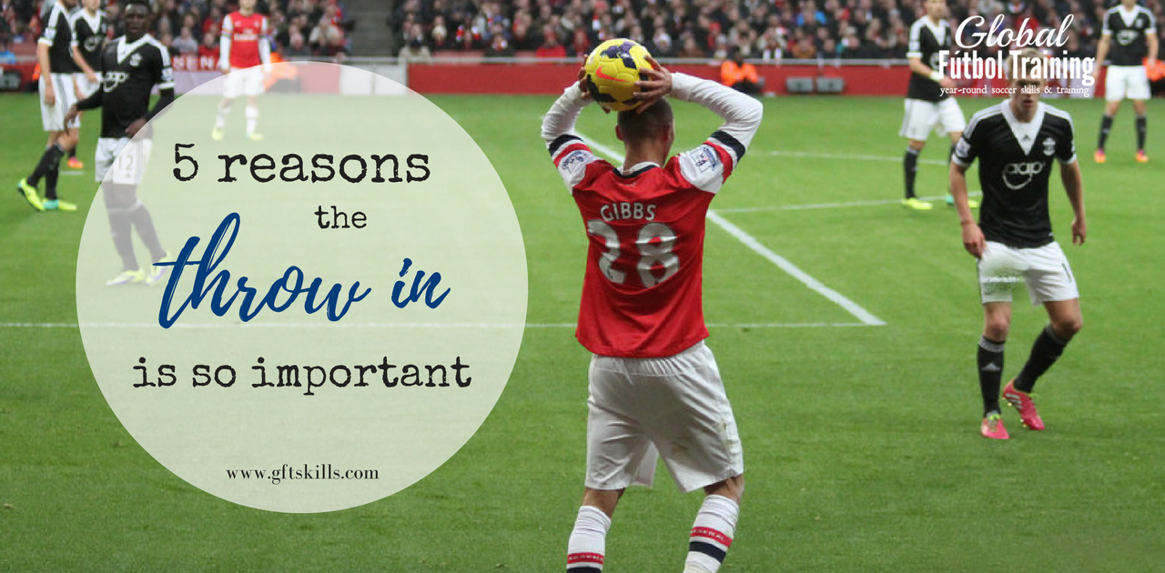 5 tips on receiving a soccer throw-in
