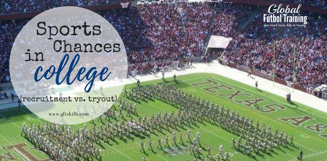 College recruitment vs tryout opportunities: learn the difference