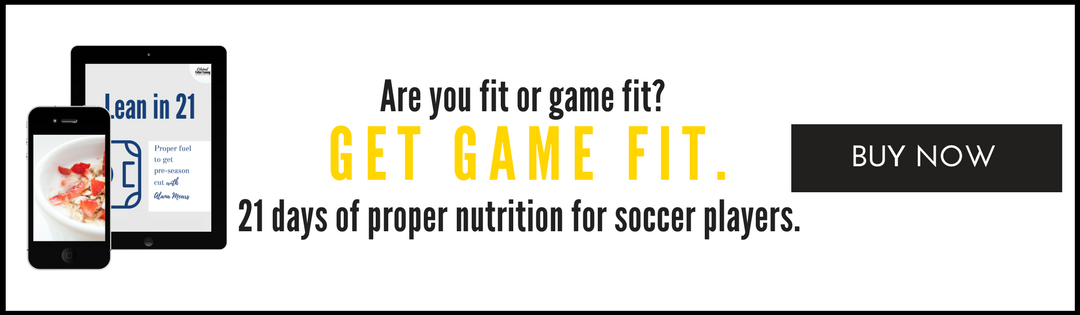 21 days to get preseason fit with the proper nutrition for athletes