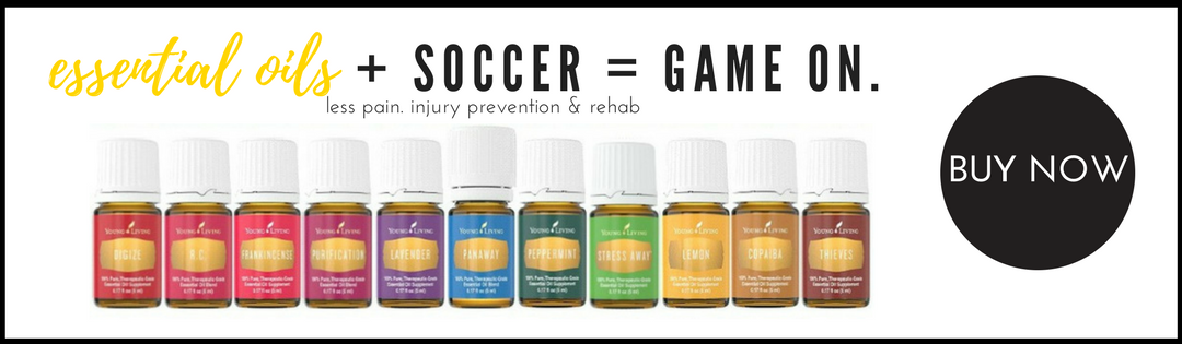 Learn the best oil recipes for a better mental, emotional & physical soccer game. Be a better competitor.