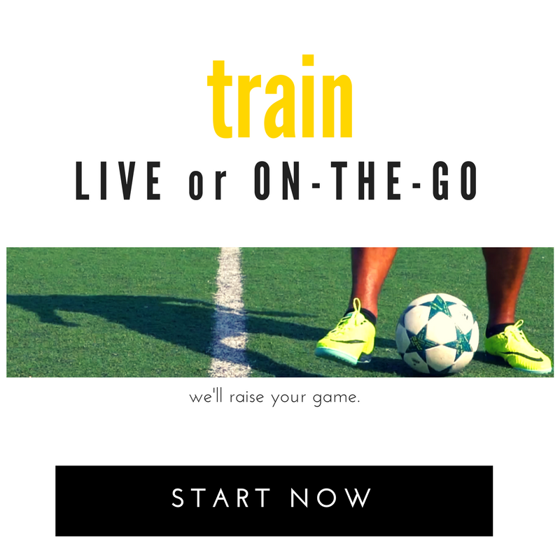 Learn how to improve your soccer game with our training that our pro clients use