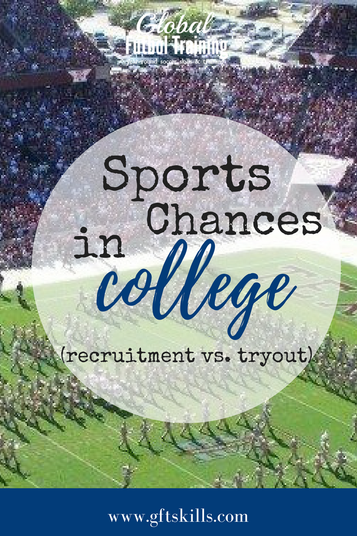 College soccer tryouts - recruitment vs opportunity: learn how to get your name in front of college coaches