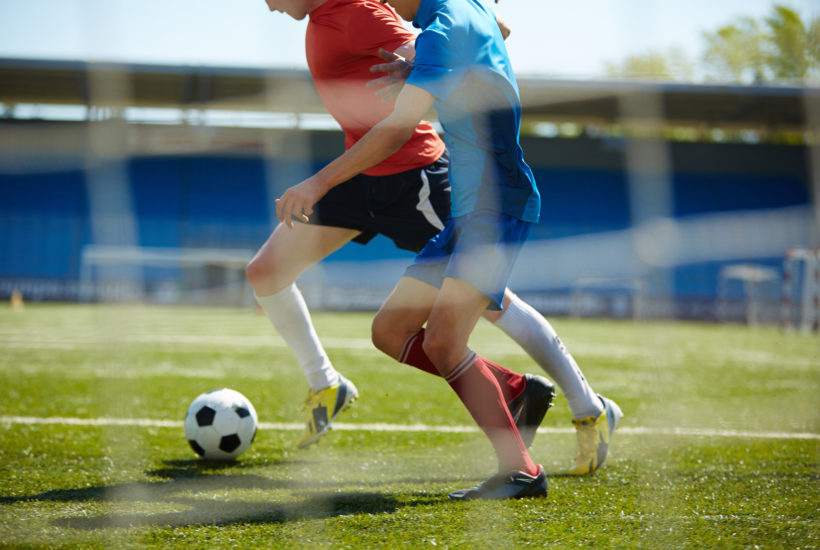 Learn how to shield the soccer ball to keep more possession.
