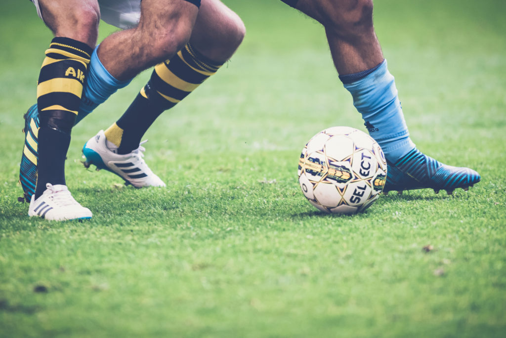 Learn how to dribble the soccer ball in a tight space.