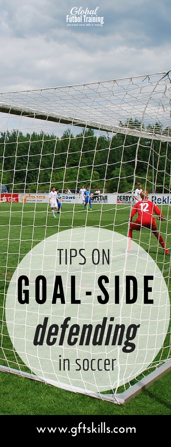 Learn how to defend the goal in soccer & stop shots on goal.