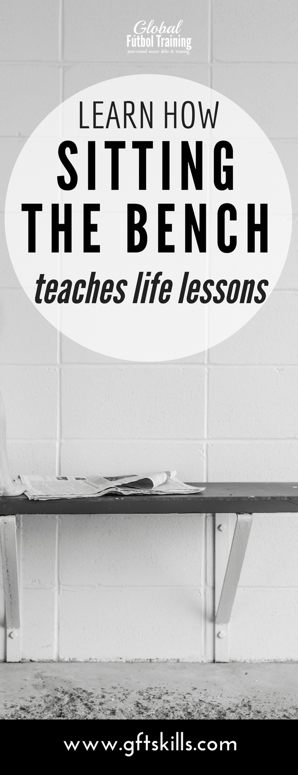 Learn how sitting the bench teaches life lessons to athletes - character in sports
