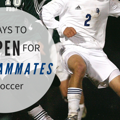5 ways to get open for a pass in soccer
