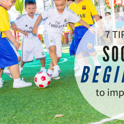 Soccer beginners improve fast with these 7 tips