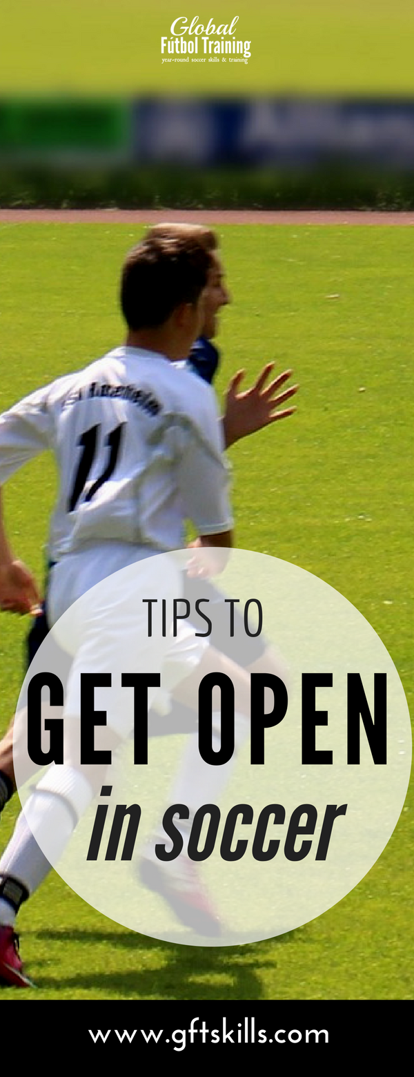 Learn how to get open in soccer with these 5 tips.
