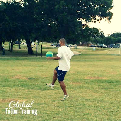 Private soccer skills global futbol training Jeremie Piette