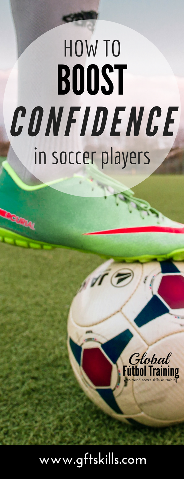 learn how to boost confidence in soccer players