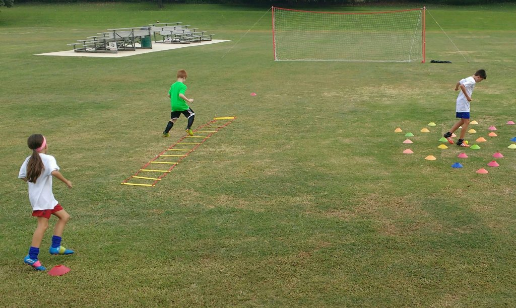 Soccer drills for ages 7-9 boys girls agility