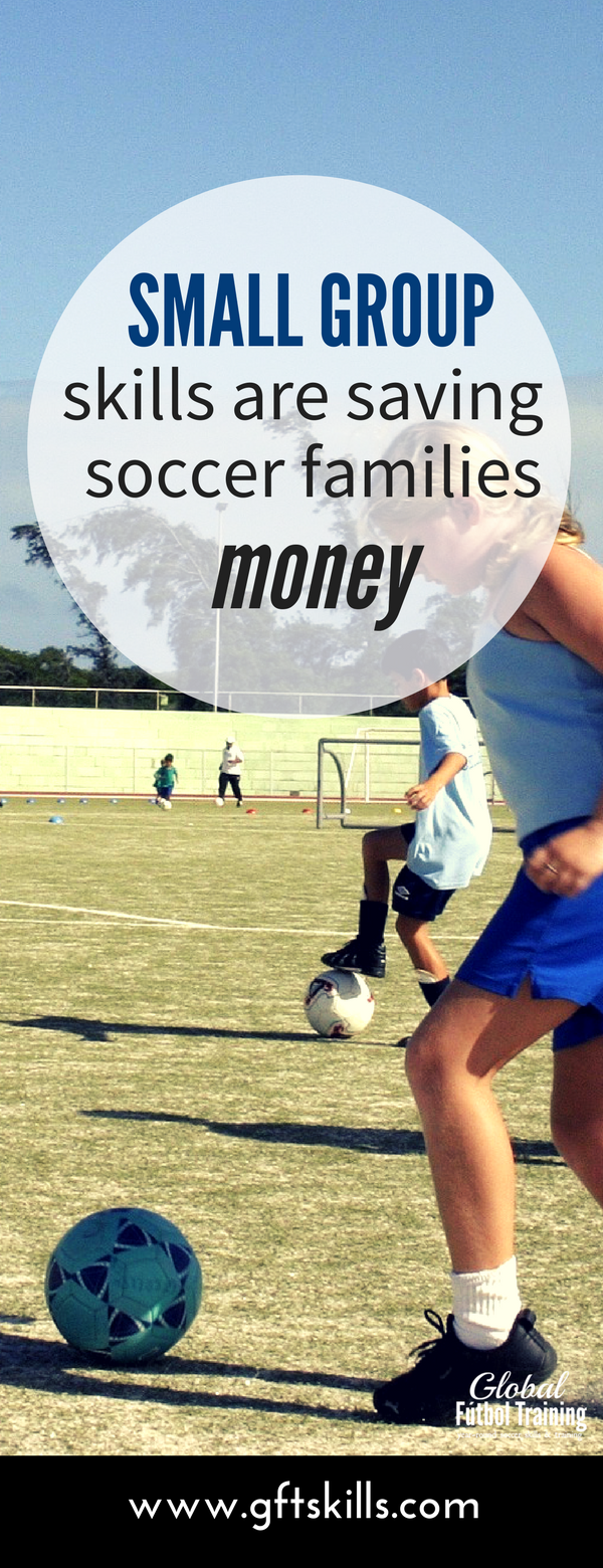 Small Group Soccer Skills Training Private lessons coach Trainer best football technical
