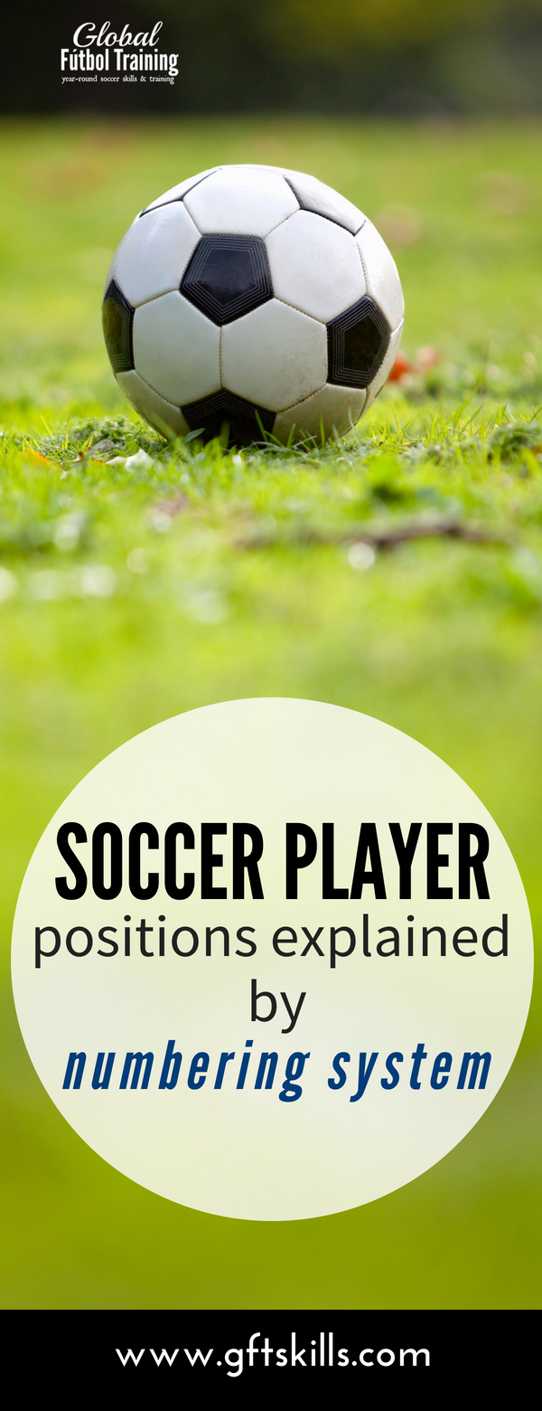 football soccer player position explained by numbering system