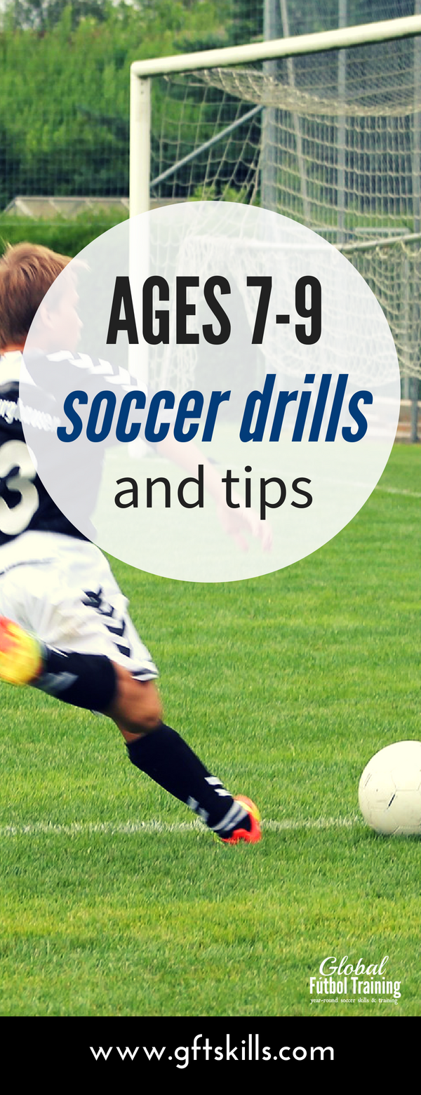youth soccer development ages 7, 8 and 9