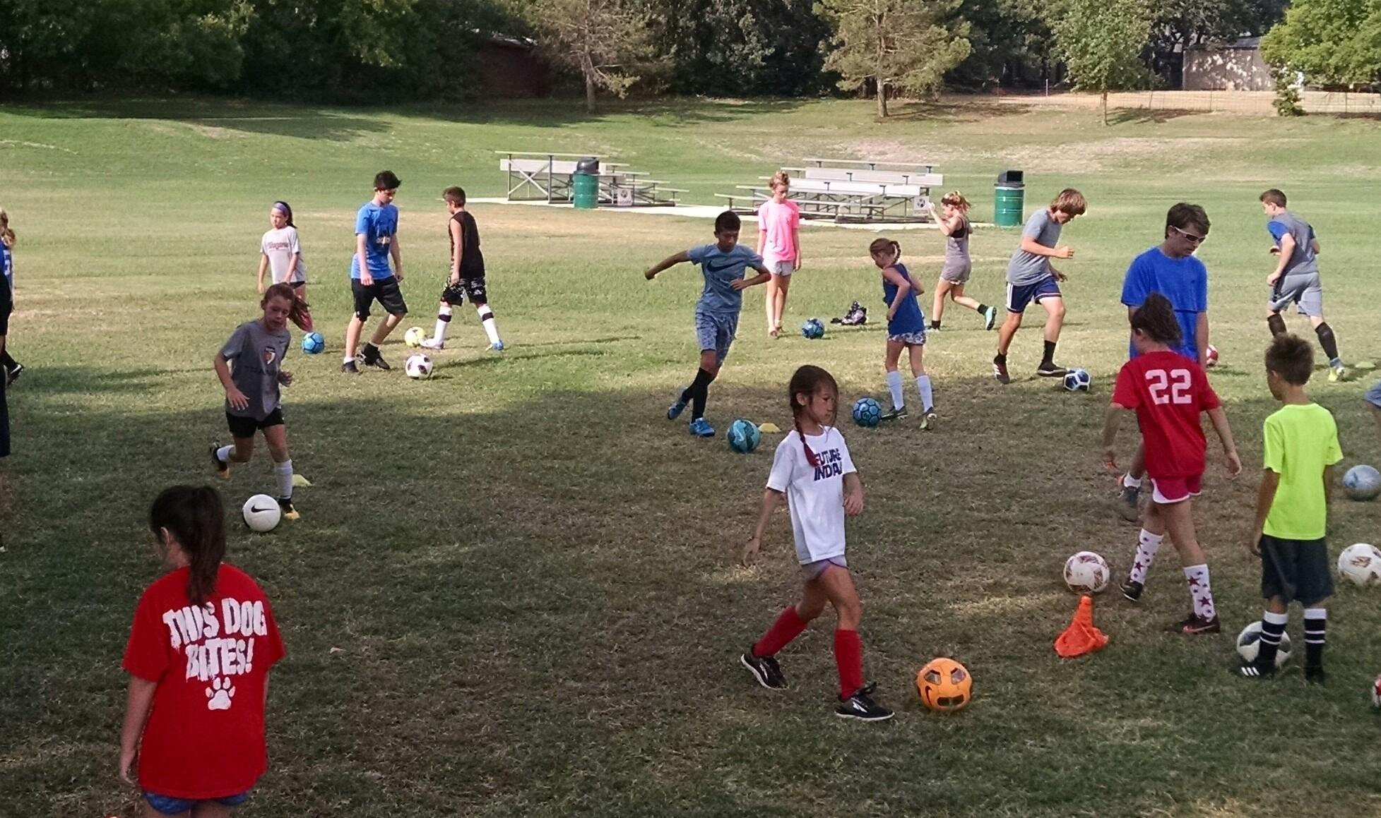 soccer skills coaching