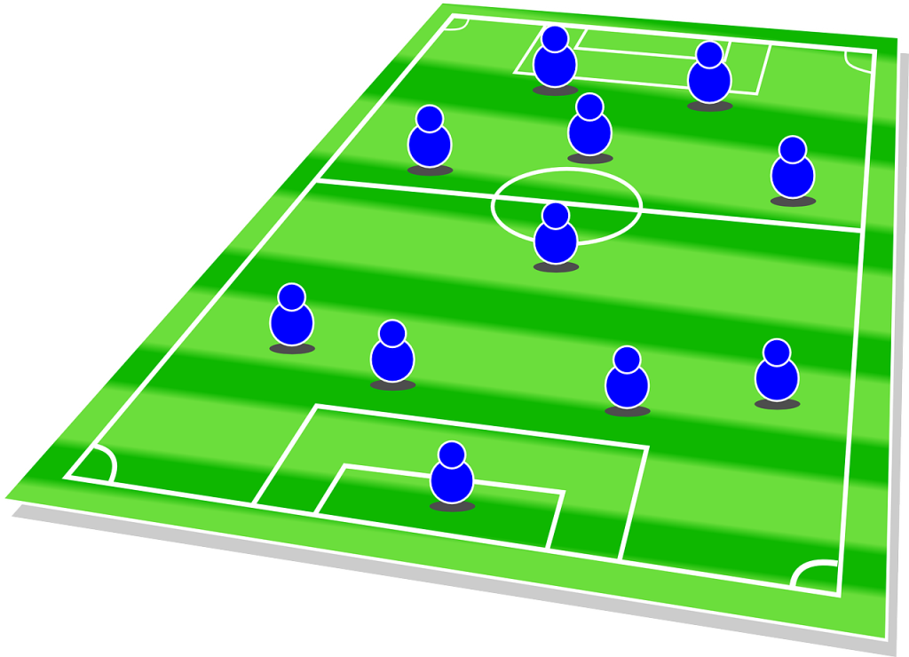 youth soccer formations tactics coaching plans