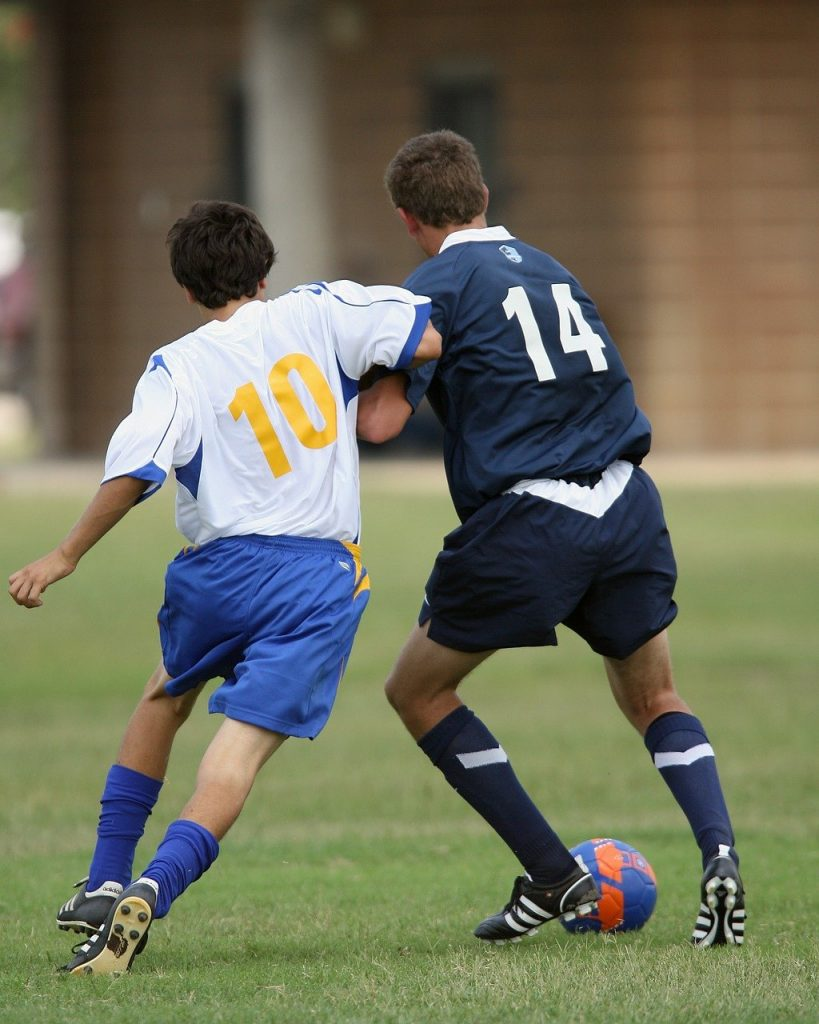 soccer aggression aggressive players