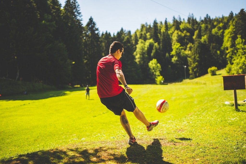 weighted pass in soccer