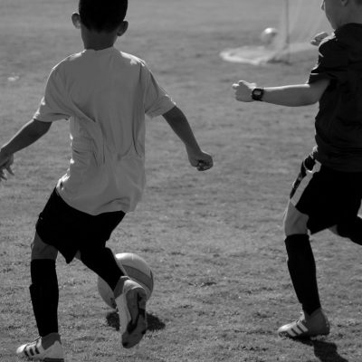 Through ball passing drills in soccer